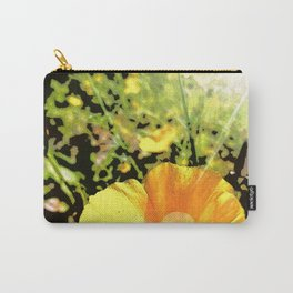 Hana Collection - California Poppy Carry-All Pouch
