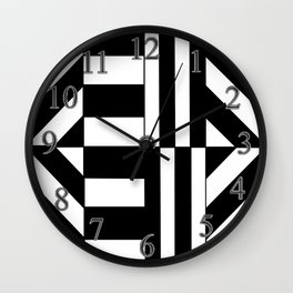 Hectic Harlequin Wall Clock