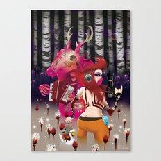 'Showtime' Canvas Print