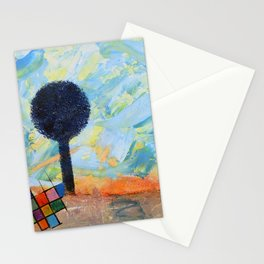 Les envahisseurs / The invaders Stationery Cards