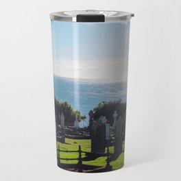 Rest in Beach Travel Mug