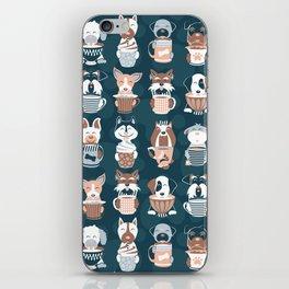 Doggie Coffee and Tea Time II iPhone Skin