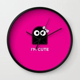 ZERKVELER - I'm cute Wall Clock