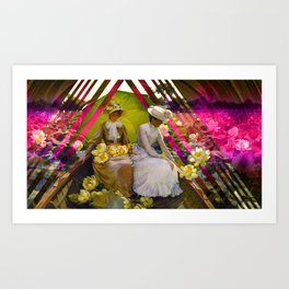 Summer Lotus Art Print