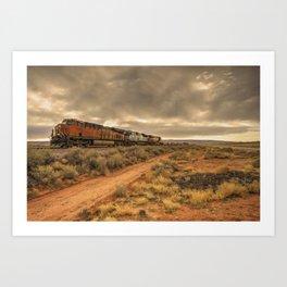 New Mexico Freight  Art Print