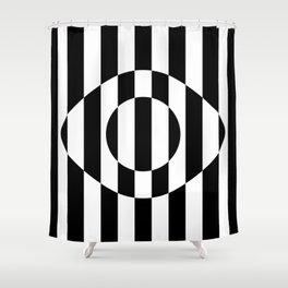 Big Brother Eye || B&W Shower Curtain