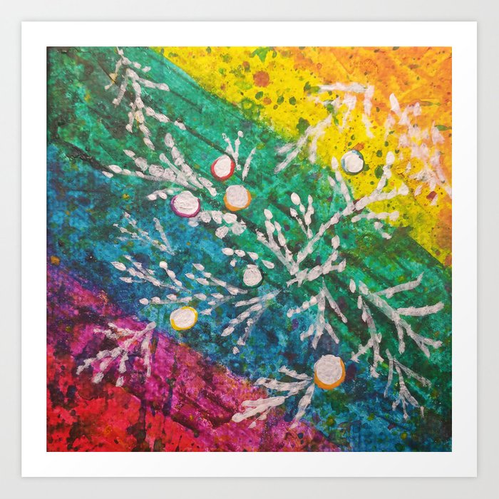 Leaves on the World Tree: Brahui Juniper Art Print
