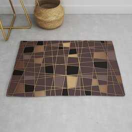 Abstract geometric pattern 12 Rug