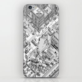MacPaint project: NYC iPhone Skin