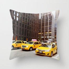 New York 22 Throw Pillow