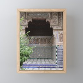 Doorways of Morocco Framed Mini Art Print