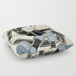 FAUNY  Floor Pillow