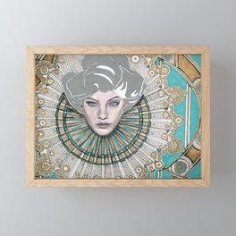 Many Faces - 2 Framed Mini Art Print