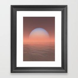 Uranus Framed Art Print