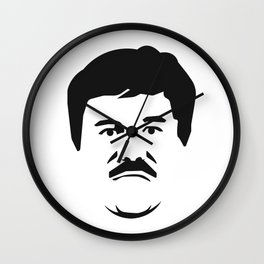 El Chapo Wall Clock
