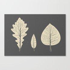 Tree-leaf Canvas Print