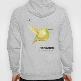 Hh - Honeybird // Half Hummingbird, Half Honeydew Melon Hoody