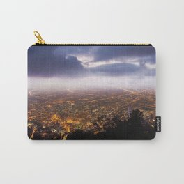 bogota colombia night view from the top Carry-All Pouch