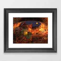 looking for IO Framed Art Print