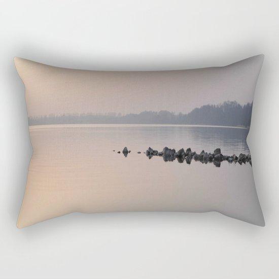 sea stones # Rectangular Pillow