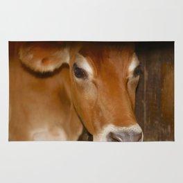 MOOdy Cow Rug