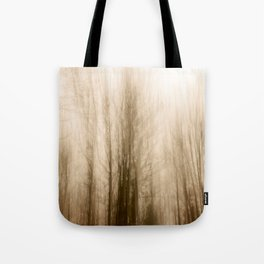 Creepy forest Tote Bag