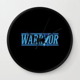 Diabetes Warrior Wall Clock