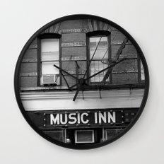 'Music Inn' New York Wall Clock