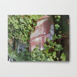 Volkswagen Graveyard Metal Print