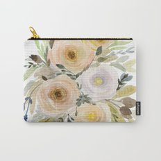 Floral 8 Carry-All Pouch