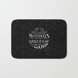 All of the Mysteries of the Universe Bath Mat