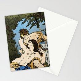 Diana and Callisto Stationery Cards