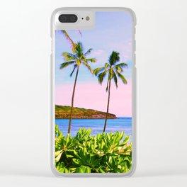 Hanauma Bay, Hawaii Clear iPhone Case