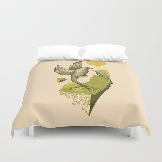 Life Unexpected Duvet Cover