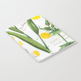 Botanical Series: Yellow Dandelion Notebook