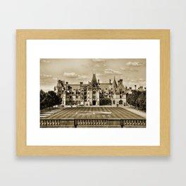 Biltmore Mansion Estate Framed Art Print
