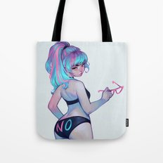 No Girl Tote Bag