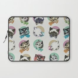 Cats & Bowties Laptop Sleeve