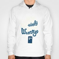risa rodil Hoodies featuring Wibbly Wobbly Timey Wimey by Risa Rodil