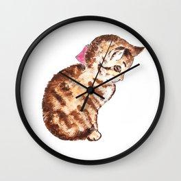 Kitten Peter Rabbit  Beatrix Potter Wall Clock