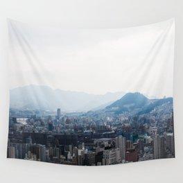 Hiroshima City from Above Wall Tapestry