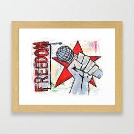 Fistful of Steel Framed Art Print