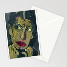 SARAH, A CITY OF ANGELS GOTH Stationery Cards