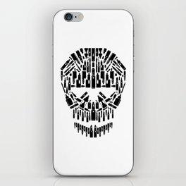 Skull Vape Accessoires | Vaper Vaping E-Cigarette  iPhone Skin