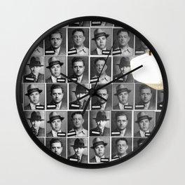 Mob Masses Wall Clock