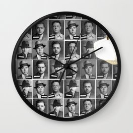 Mob Masses Wall Clock