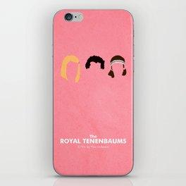 The Royal Tenenbaums iPhone Skin