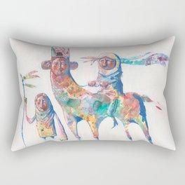 colour nomads Rectangular Pillow