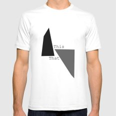 This That  Mens Fitted Tee White MEDIUM