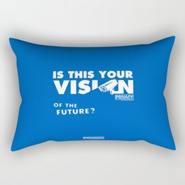 Is this Your Vision of the Future? Rectangular Pillow